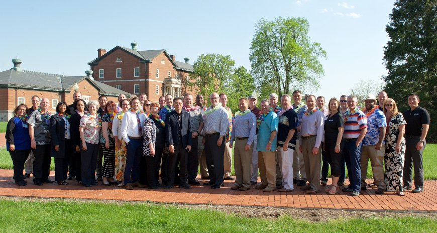 This is a picture of NDPTC staff posing with the class at FEMA's EMI to Deliver Executive Academy Training