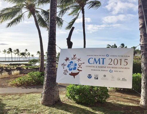 Sign of CMT 2015 in Kona, Hawaii