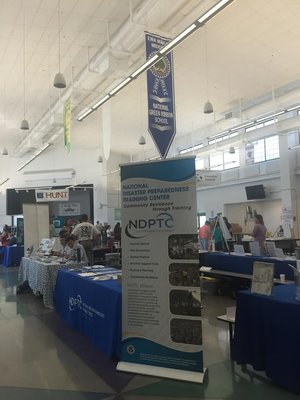 NDPTC Participates at the Ewa Beach preparedness fair.