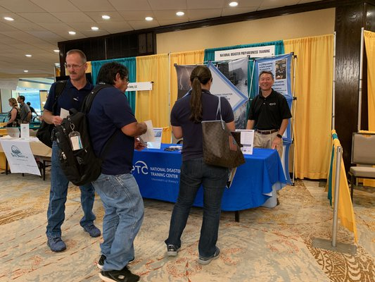 This is a picture of NDPTC's Booth