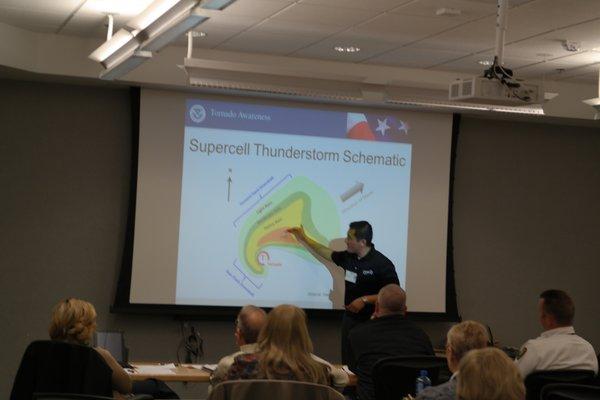 Tornado Awareness course in Oklahoma