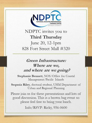 This is the flyer for June 2019 Third Thursday Lunch Discussion