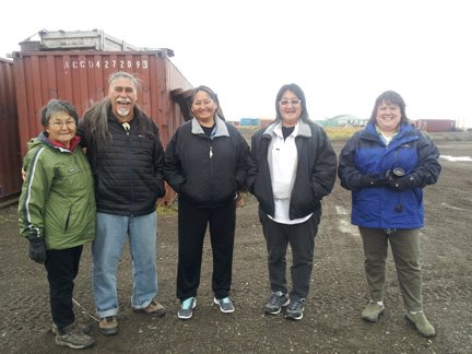 NDPTC delivers training to Inupiat Native American community in Kivilina Alaska
